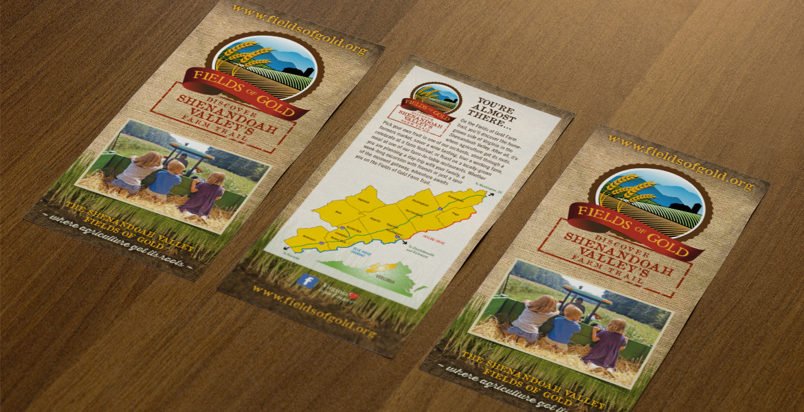 Fields of Gold: Shenandoah Valley's Farm Trail Identity-1