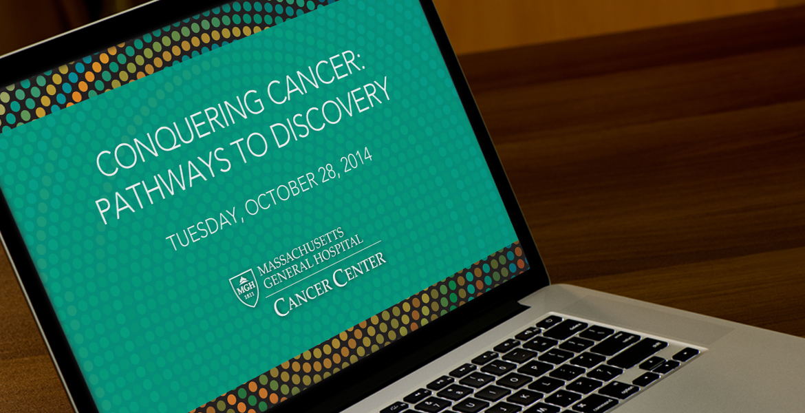 Conquering Cancer: Pathways to Discovery Event Collateral-2