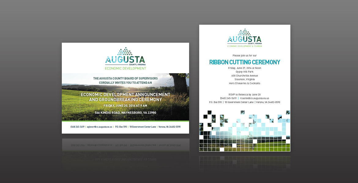 Augusta County Economic Development and Tourism Logo and Collateral-0