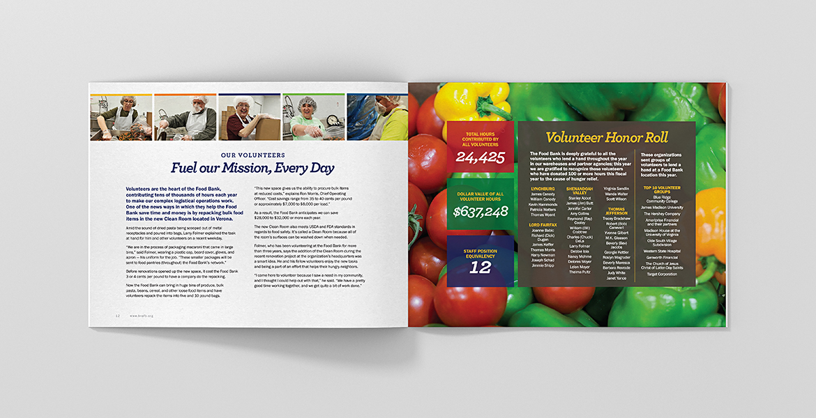 Blue Ridge Area Food Bank: Feeding their Potential Annual Report-2