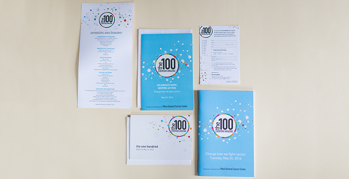 Massachusetts General Hospital: The 100 Event Collateral-0