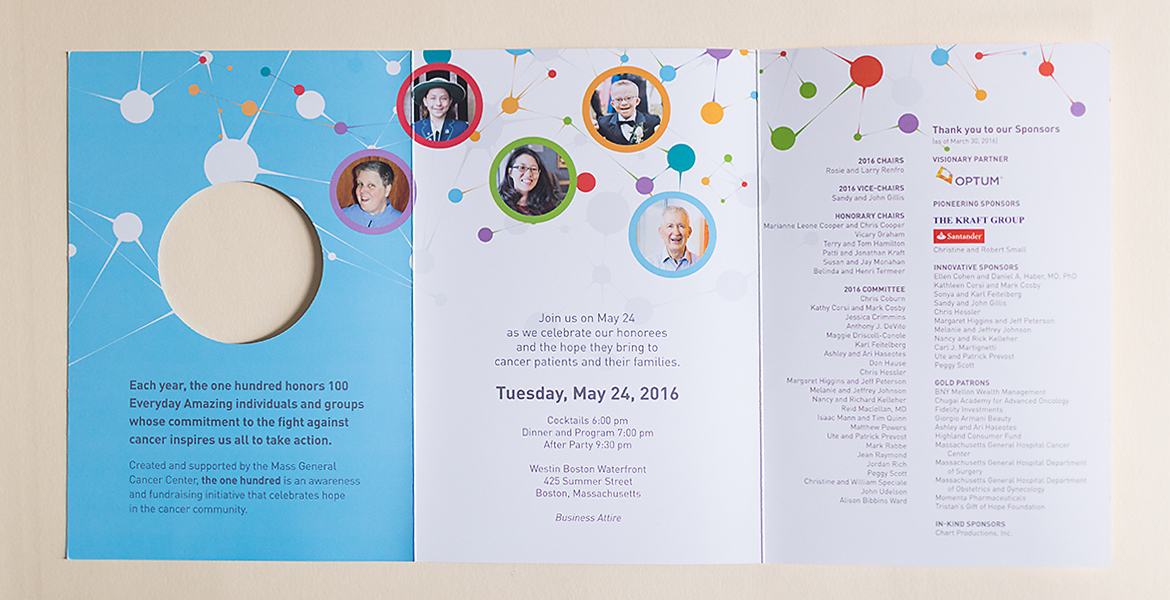 Massachusetts General Hospital: The 100 Event Collateral-3