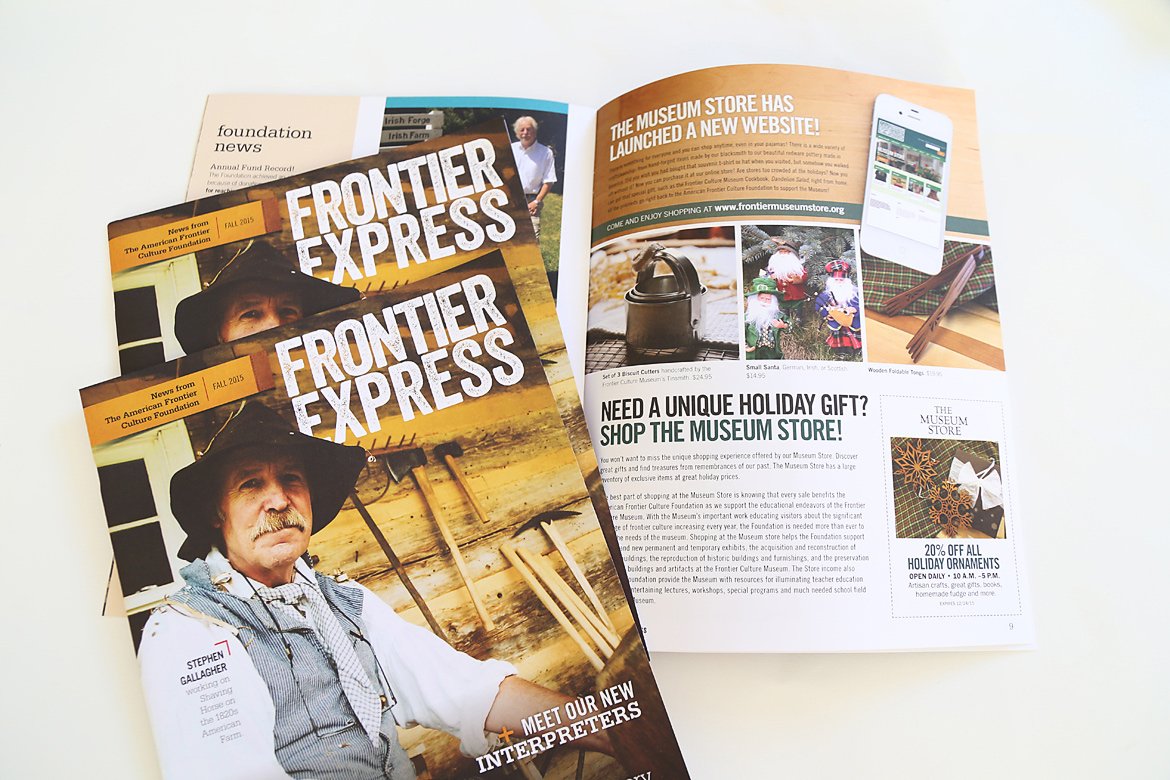 Frontier Culture Museum Foundation: Frontier Express Newsletters-0