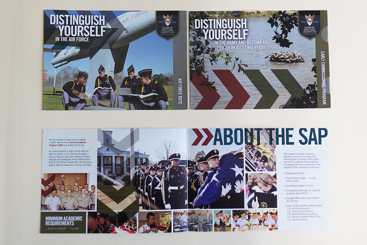 Marion Military Institute: Admissions Collateral-1