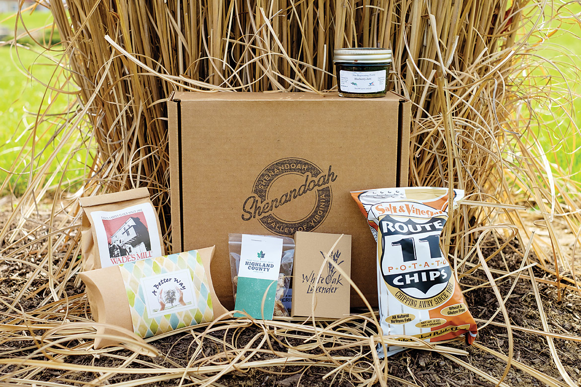 Harvest Box: Shenandoah Valley Partnership's Familiarization Tour Save the Date Kit-0