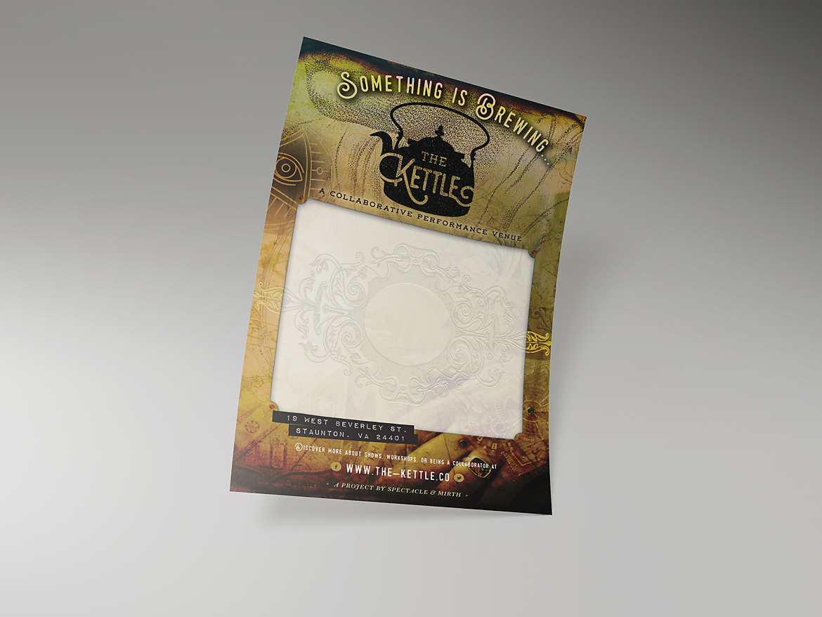 The Kettle: Identity & Promotional Flier & Poster-2
