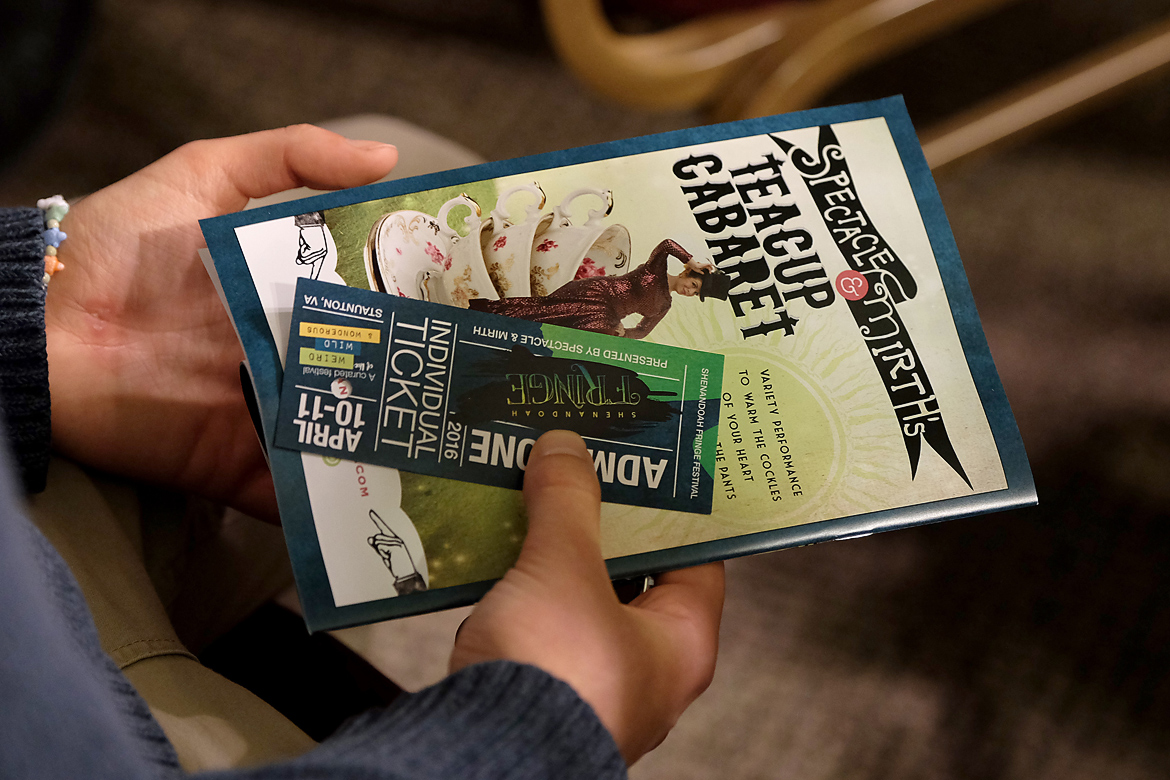 Shenandoah Fringe Festival: Event Identity & Collateral-2