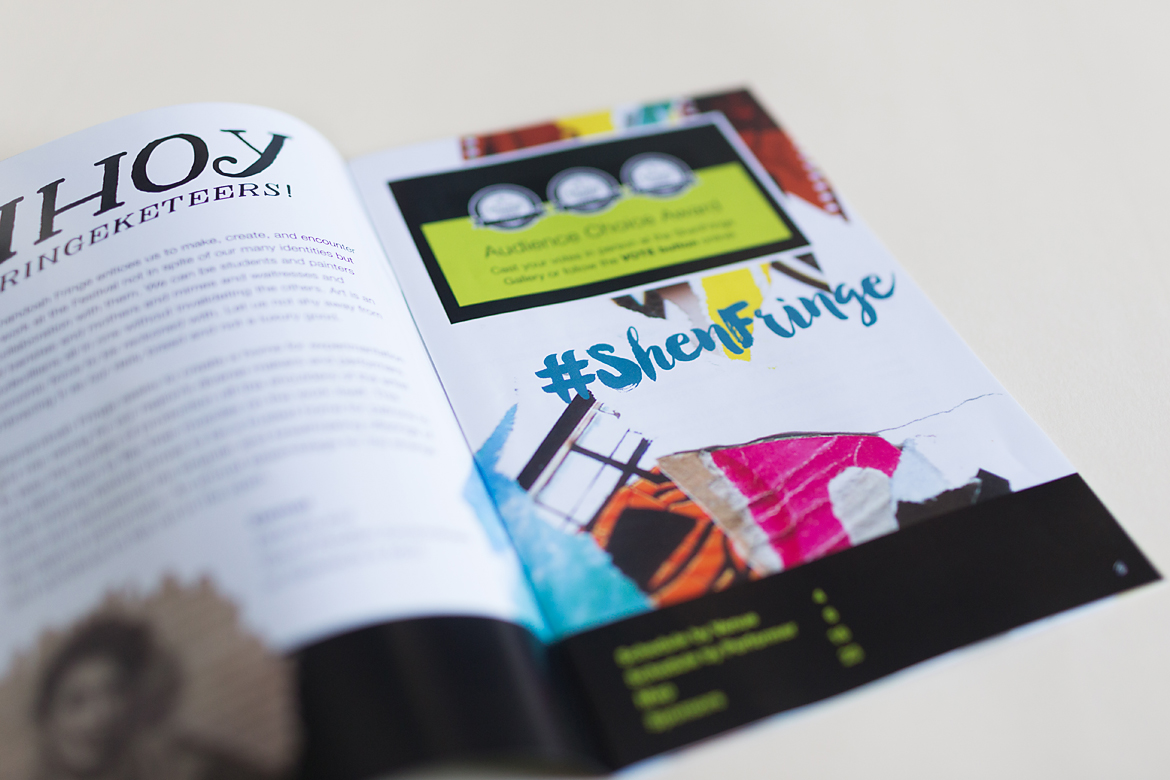Shenandoah Fringe Festival: Event Identity & Collateral-0